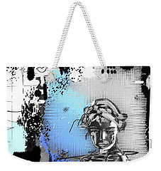 Weekender Tote Bag featuring the digital art Lost Love by Sladjana Lazarevic