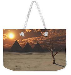 Lost Pyramids Weekender Tote Bag