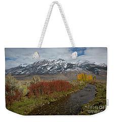 Lost River Range Weekender Tote Bag