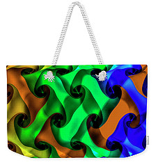 Weekender Tote Bag featuring the photograph Lost Together by Paul Wear