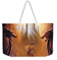 Lost Valley Weekender Tote Bag by The Dragon Chronicles - Garry Wa