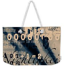 Lost--zero--nothingness Weekender Tote Bag