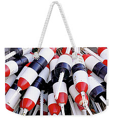 Lot Of Buoys Weekender Tote Bag