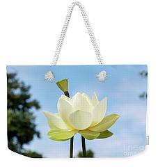 Lotus Debbie Gibson Flower Weekender Tote Bag