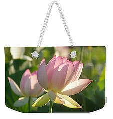 Lotus Flower 2 Weekender Tote Bag
