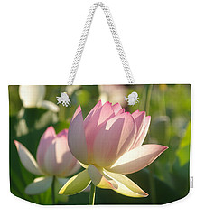 Lotus Flower 2 Weekender Tote Bag