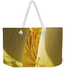 Weekender Tote Bag featuring the photograph Lotus Flower 3 by Buddy Scott
