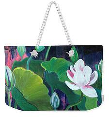 Lotus Garden 1 Weekender Tote Bag