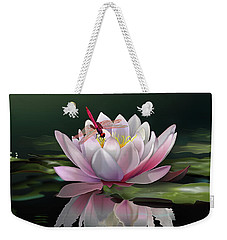 Lotus Meditation Weekender Tote Bag by Rosa Cobos