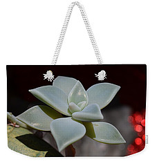 Weekender Tote Bag featuring the photograph Lotus by Richard Ricci