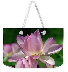Lotus--sisters I Dl0082 Weekender Tote Bag