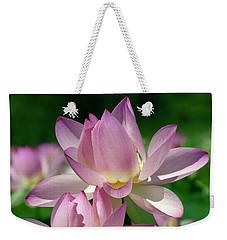 Lotus--sisters I Dl0082 Weekender Tote Bag
