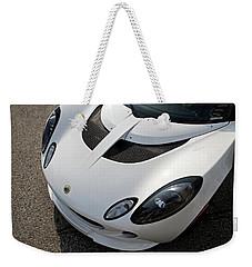 Weekender Tote Bag featuring the photograph Lotus Smile by Joel Witmeyer