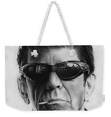 Lou Reed Weekender Tote Bag by Greg Joens