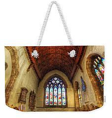 Loughborough Church - Altar Vertorama Weekender Tote Bag