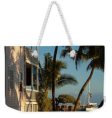 Louie's Backyard Weekender Tote Bag