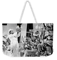 Louis Armstrong Weekender Tote Bag by American School