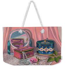 Louis Sherry Box Weekender Tote Bag