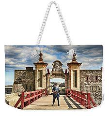 Louisbourg Fortress, Nova Scotia Weekender Tote Bag