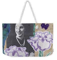 Louise In Boston 1944 In Memory Of My Mother Weekender Tote Bag