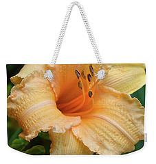 Louise Manelis Daylily Weekender Tote Bag