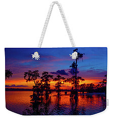 Louisiana Blue Salute Reprise Weekender Tote Bag