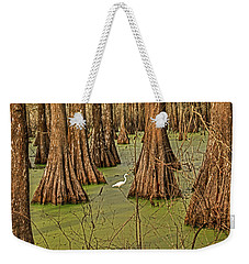 Louisiana Cajun Swamp Weekender Tote Bag