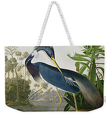 Louisiana Heron Weekender Tote Bag