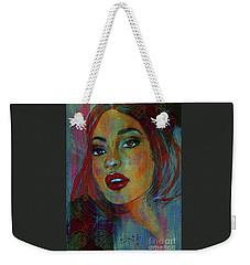 Lourdes At Twilight Weekender Tote Bag by P J Lewis