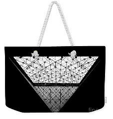Lourve Pyramid Weekender Tote Bag by Amar Sheow