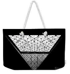 Lourve Pyramid Weekender Tote Bag