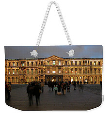 Weekender Tote Bag featuring the photograph Louvre Palace, Cour Carree by Mark Czerniec