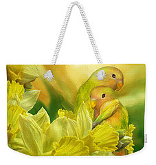 Love Among The Daffodils Weekender Tote Bag