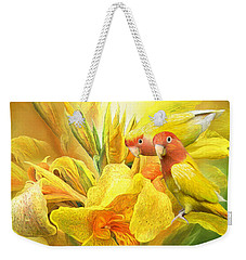 Love Among The Orchids Weekender Tote Bag