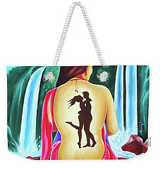 Love And Intimate Weekender Tote Bag