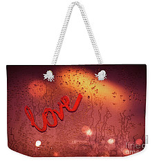 Love And Passion Background Weekender Tote Bag