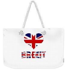 Love Brexit Weekender Tote Bag