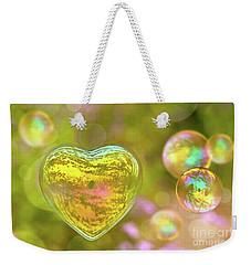 Love Bubble Weekender Tote Bag