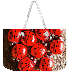 Love Bug Weekender Tote Bag by Jorgo Photography - Wall Art Gallery