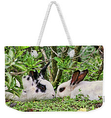 Love Bunnies In Costa Rica Weekender Tote Bag