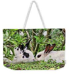 Love Bunnies In Costa Rica Weekender Tote Bag