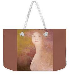 Weekender Tote Bag featuring the digital art Love Calls by Jeff Burgess