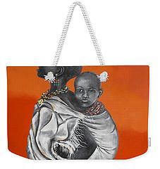 Love Carries Weekender Tote Bag