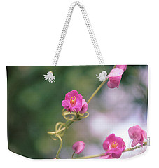 Weekender Tote Bag featuring the photograph Love Chain by Megan Dirsa-DuBois