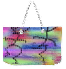 Love Colors Weekender Tote Bag by Alec Drake