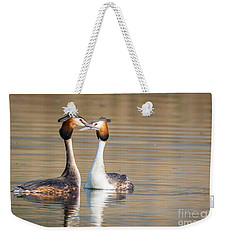Love Couple Weekender Tote Bag
