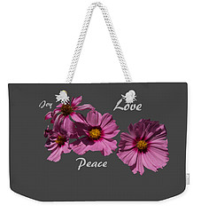 Love Weekender Tote Bag by David and Lynn Keller