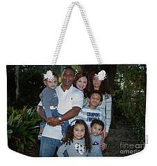 Weekender Tote Bag featuring the photograph Love Demonstrated 2 James Ingram Family Art by Reid Callaway