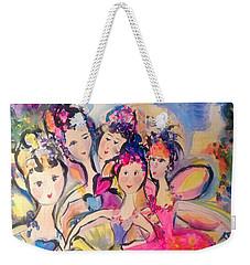 Love Fairies   Weekender Tote Bag by Judith Desrosiers