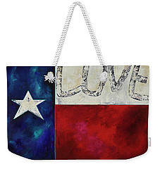 Love For Texas Two Weekender Tote Bag